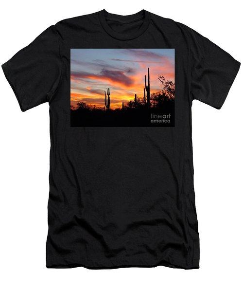 Desert Sunset Men's T-Shirt (Slim Fit) by Joseph Baril
