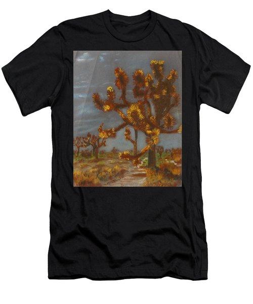 Dessert Trees Men's T-Shirt (Athletic Fit)