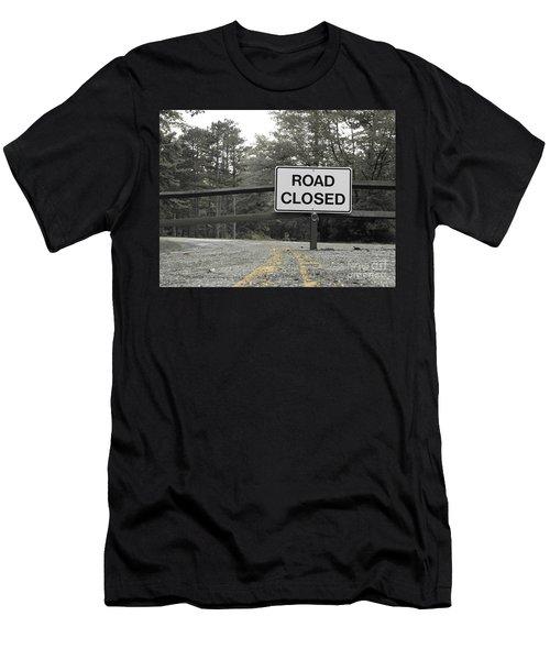 Men's T-Shirt (Slim Fit) featuring the photograph Detour by Michael Krek