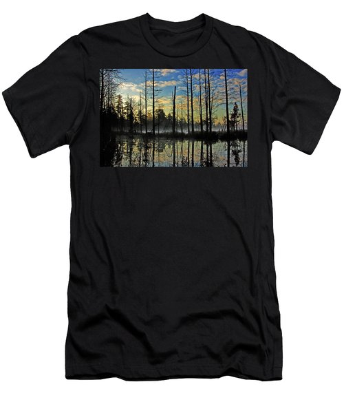 Devils Den In The Pine Barrens Men's T-Shirt (Athletic Fit)