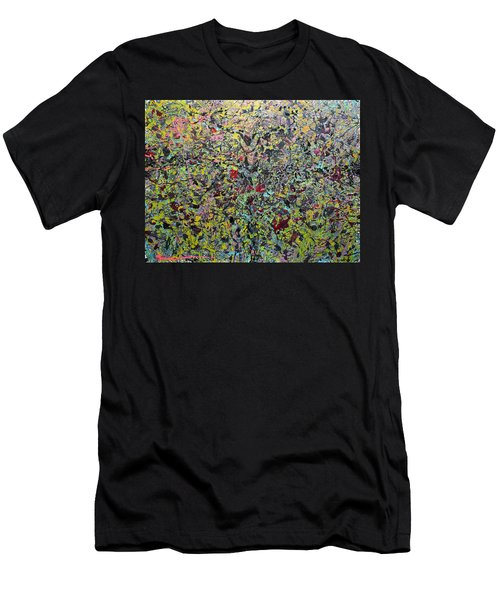 Men's T-Shirt (Athletic Fit) featuring the painting Devisolum by Ryan Demaree