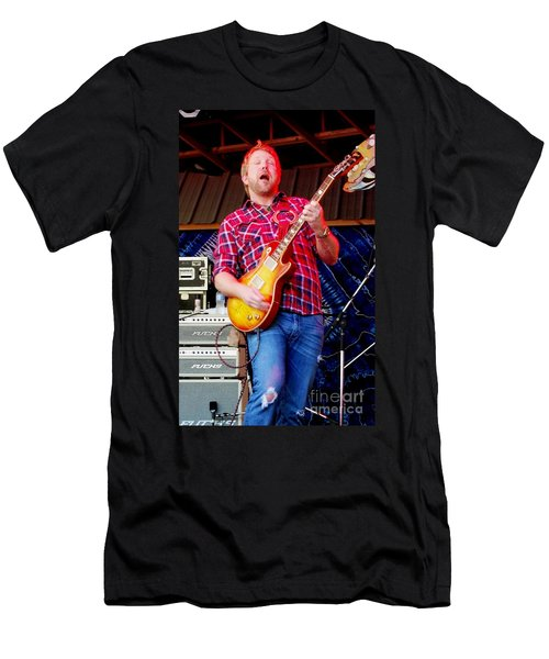 Devon Allman Men's T-Shirt (Slim Fit) by Angela Murray