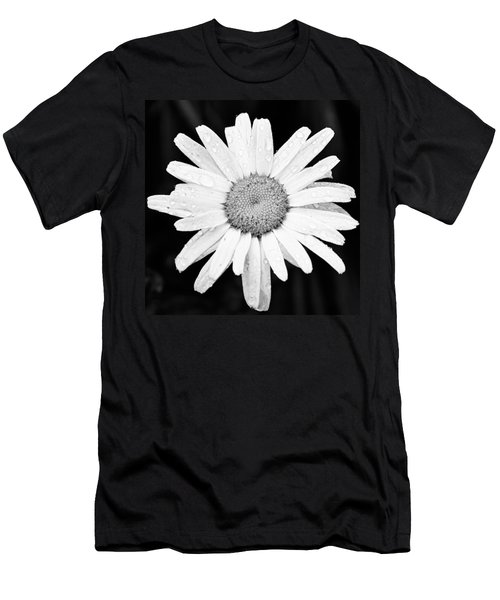 Dew Drop Daisy Men's T-Shirt (Athletic Fit)