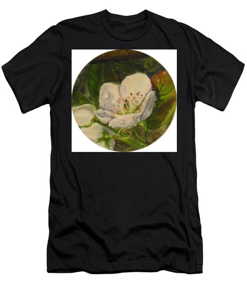 Dew Of Pear's Blooms Men's T-Shirt (Athletic Fit)