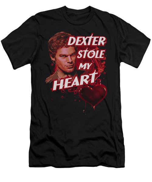 Dexter - Bloody Heart Men's T-Shirt (Athletic Fit)