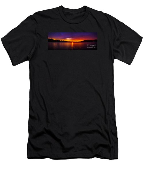 Dexter Lake Oregon Sunset 2 Men's T-Shirt (Athletic Fit)