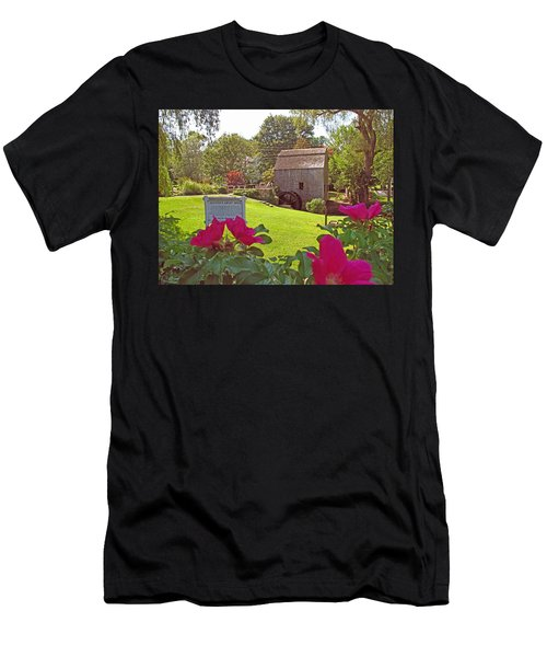 Dexters Grist Mill Two Men's T-Shirt (Athletic Fit)