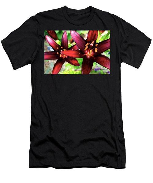 Dimension Lily 2 Men's T-Shirt (Slim Fit) by Jacqueline Athmann