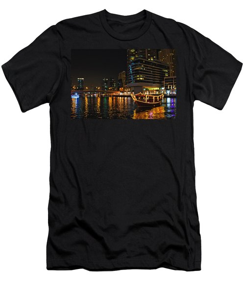 Dinner Cruise Dubai Men's T-Shirt (Athletic Fit)