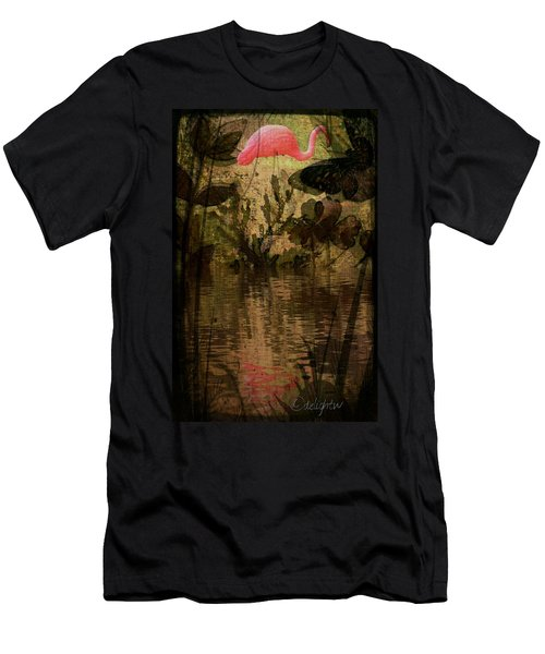 Dinosaurs Among Us Men's T-Shirt (Athletic Fit)