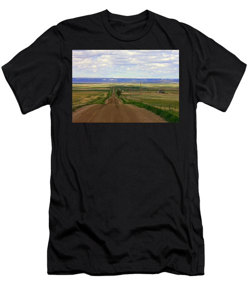 Dirt Road To Forever Men's T-Shirt (Athletic Fit)