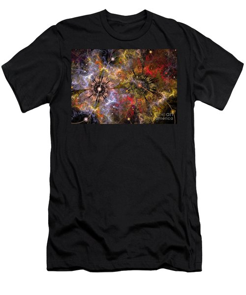 Distant Cosmos Men's T-Shirt (Athletic Fit)