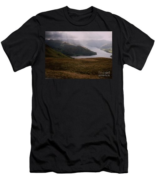 Distant Hills Cumbria Men's T-Shirt (Slim Fit) by John Williams