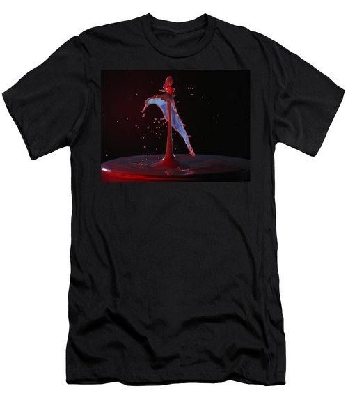 Men's T-Shirt (Slim Fit) featuring the photograph Distressed by Kevin Desrosiers