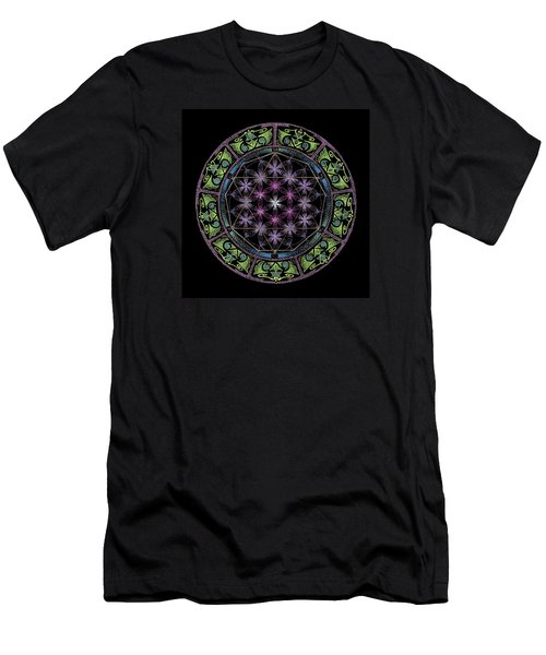 Men's T-Shirt (Slim Fit) featuring the painting Divine Feminine Energy by Keiko Katsuta