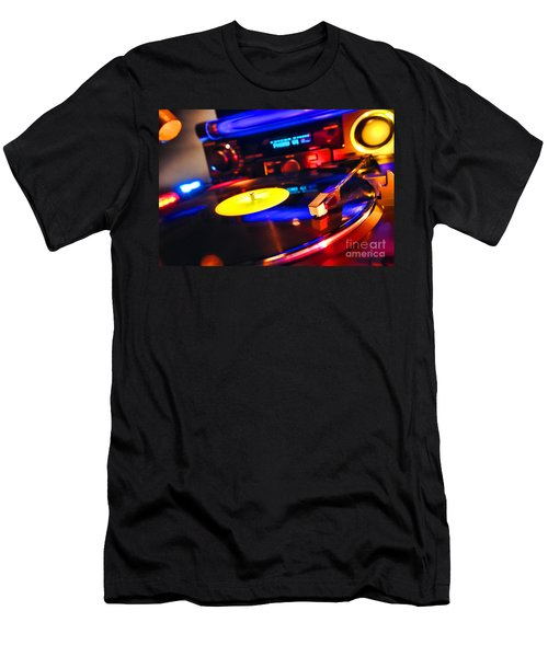 Dj 's Delight Men's T-Shirt (Athletic Fit)