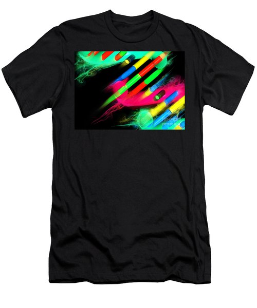 Men's T-Shirt (Athletic Fit) featuring the digital art Dna Dreaming 8 by Russell Kightley