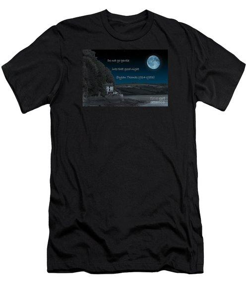Do Not Go Gentle Men's T-Shirt (Slim Fit) by Steve Purnell