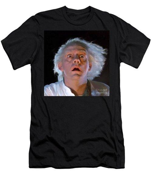 Doc Brown Men's T-Shirt (Athletic Fit)