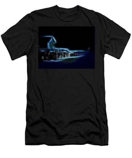 Dockside Moonlight Men's T-Shirt (Athletic Fit)