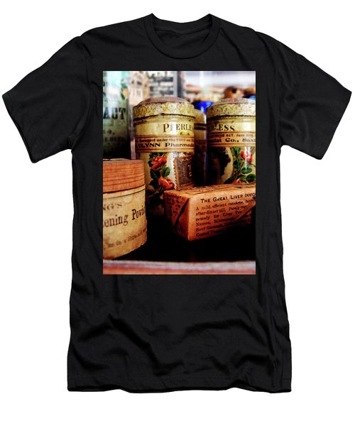 Doctor - Liver Pills In General Store Men's T-Shirt (Slim Fit) by Susan Savad