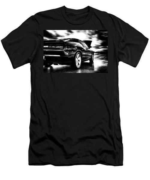 Dodge Challenger Srt In Hdr Men's T-Shirt (Athletic Fit)