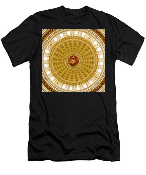 Capitol Dome - Madison - Wisconsin Men's T-Shirt (Athletic Fit)