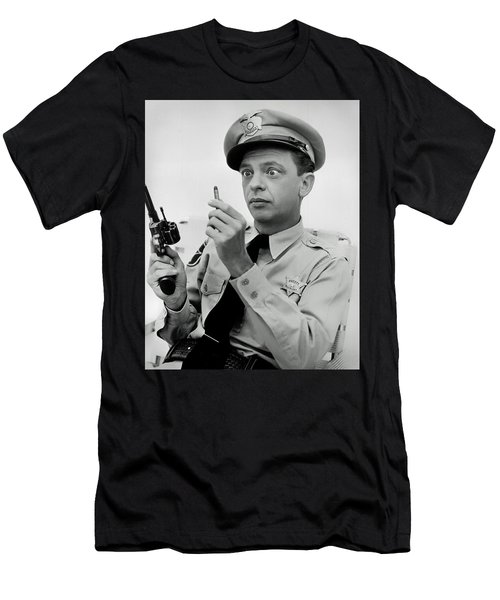 Barney Fife - Don Knotts Men's T-Shirt (Athletic Fit)