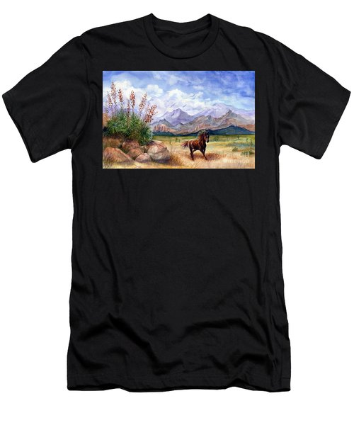 Don't Fence Me In Men's T-Shirt (Athletic Fit)
