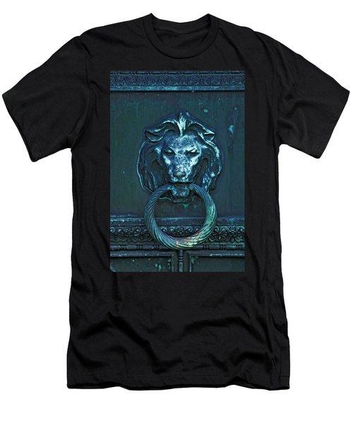 Door Knocker Men's T-Shirt (Slim Fit) by Rowana Ray