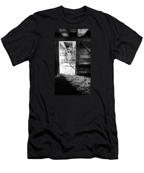 Doorway Through Time Men's T-Shirt (Slim Fit) by Daniel Thompson