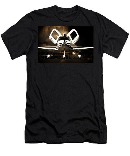 Doors Open Men's T-Shirt (Slim Fit) by Paul Job