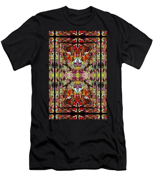Doorways Thru Sacred Bridge Men's T-Shirt (Slim Fit) by Deprise Brescia