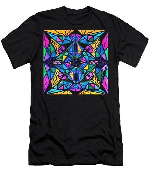 Dopamine Men's T-Shirt (Athletic Fit)