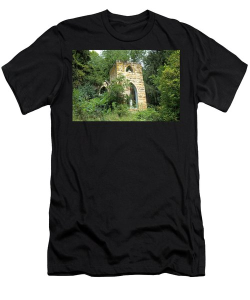 Dorchester Grotto Men's T-Shirt (Slim Fit) by Bonfire Photography