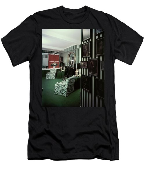 Dorothy Draper's Study Men's T-Shirt (Athletic Fit)