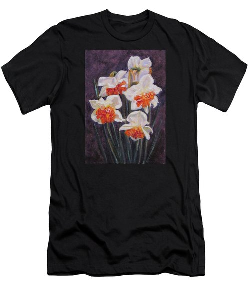 Double Daffodil Replete Men's T-Shirt (Athletic Fit)
