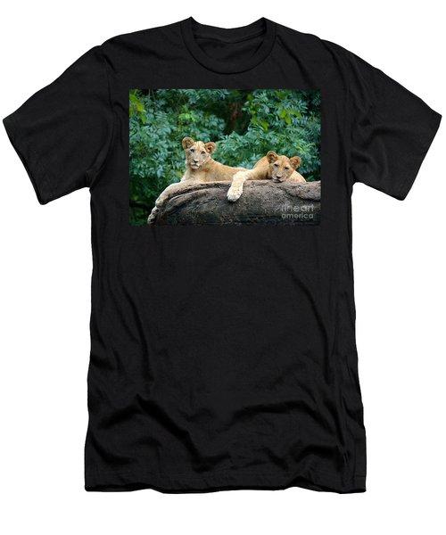 Double Trouble Men's T-Shirt (Athletic Fit)