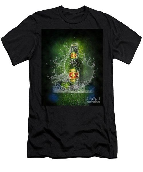 Double X Men's T-Shirt (Slim Fit) by Erika Weber