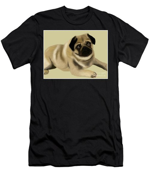 Doug The Pug Men's T-Shirt (Athletic Fit)