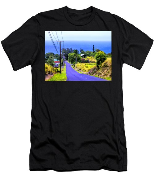 Down Into Honokaa Men's T-Shirt (Athletic Fit)