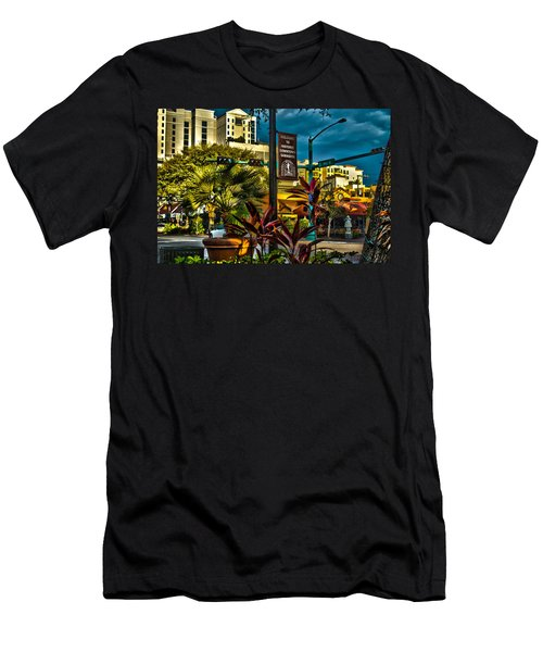 Down On Main Street Men's T-Shirt (Athletic Fit)