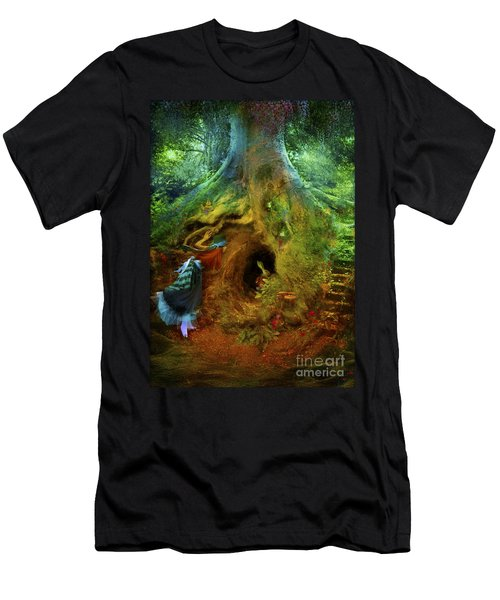 Down The Rabbit Hole Men's T-Shirt (Athletic Fit)