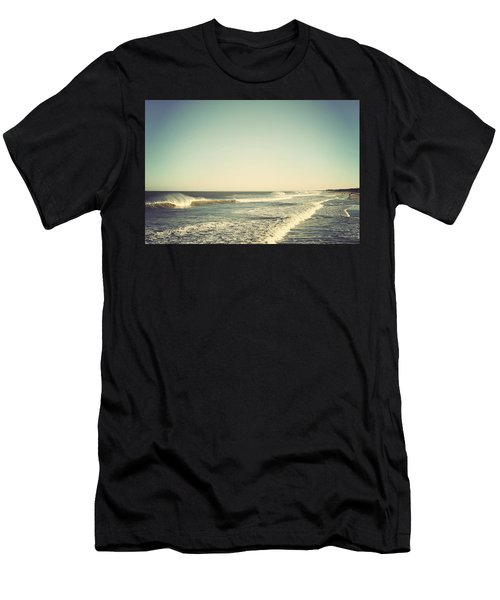 Down The Shore - Seaside Heights Jersey Shore Vintage Men's T-Shirt (Athletic Fit)