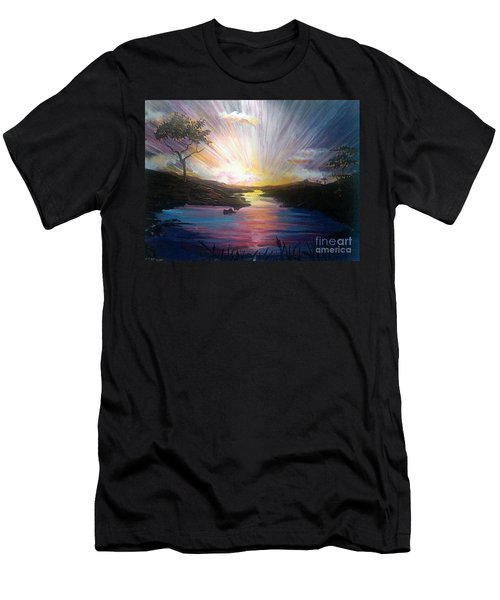 Down To The River Men's T-Shirt (Athletic Fit)