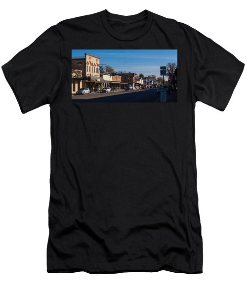 Downtown Boerne Men's T-Shirt (Athletic Fit)
