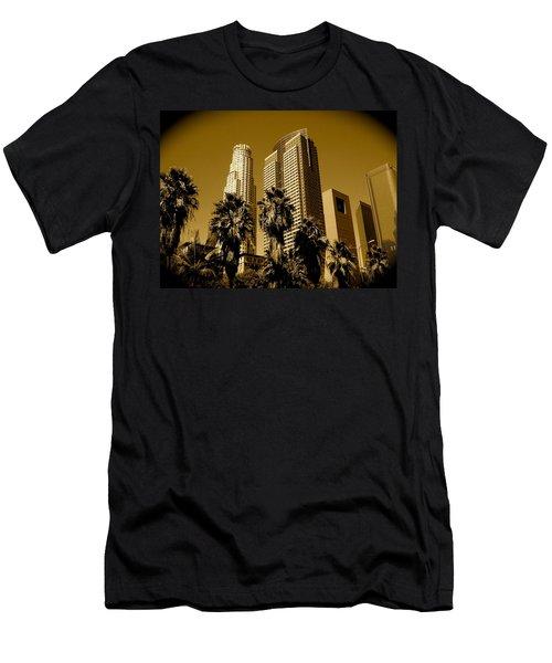 Downtown Los Angeles Men's T-Shirt (Athletic Fit)