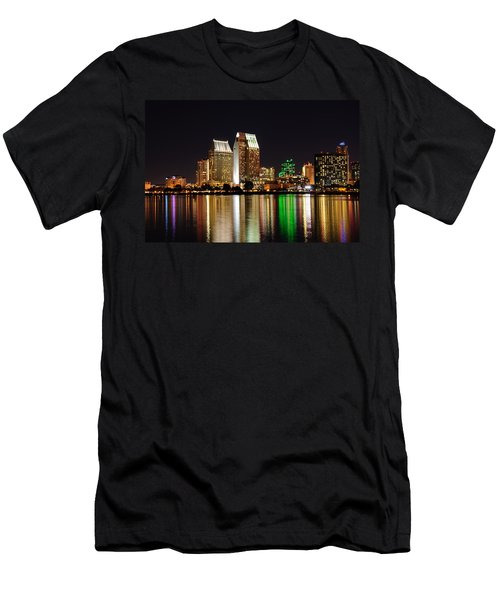 Downtown San Diego Men's T-Shirt (Athletic Fit)