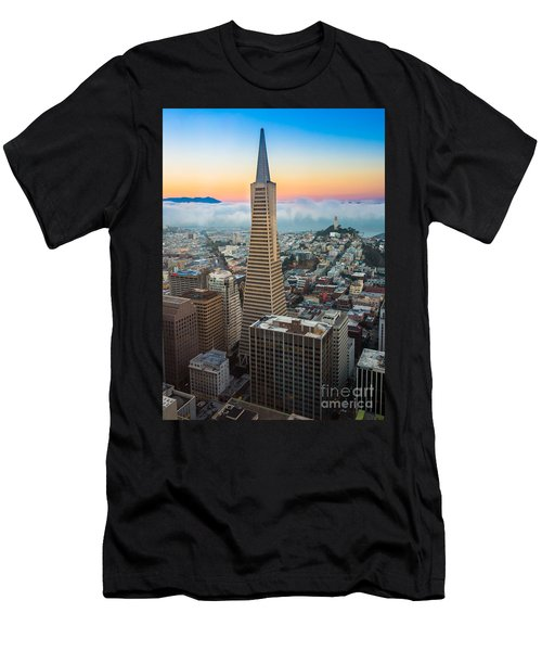 San Francisco Fog Men's T-Shirt (Athletic Fit)