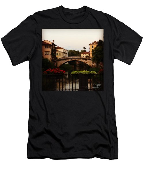 Downtown Vicenza Men's T-Shirt (Athletic Fit)